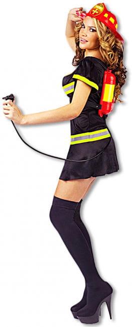 Sexy Feuerwehr Lady Kostüm 38/40 SM S/M 36-38