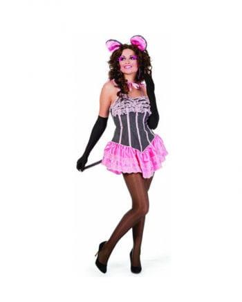 Sexy Mäuse Dame Kostüm