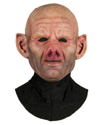 Silikon Halbmaske Schwein