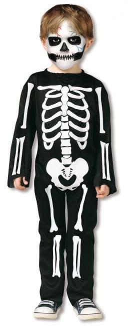 Skeleton Costume Toddlers S