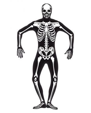 Skeleton skinsuit Glow in the Dark XL