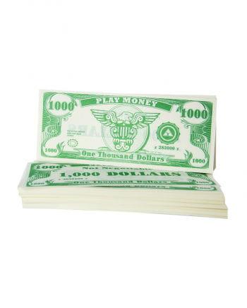 Spielgeld Dollar-Scheine