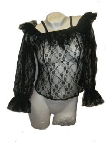 Black Lace Top Small