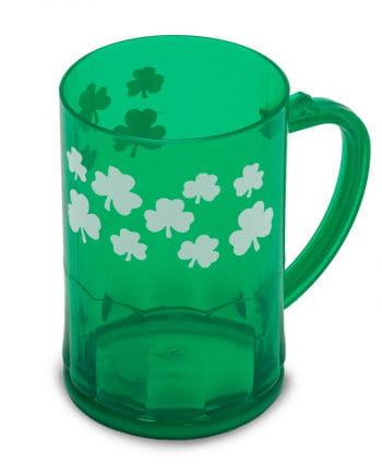 St. Patrick's Day Kleeblatt Tasse