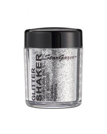 Stargazer Glitter Shaker Silver