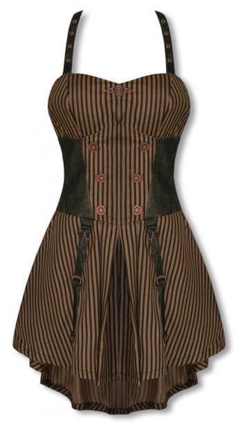Steampunk dress knee length