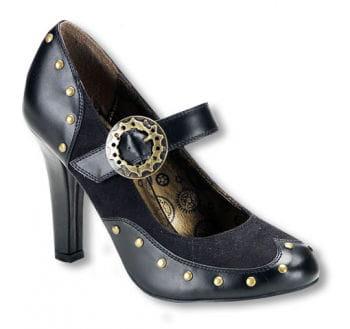 Steampunk Schuhe mit Riemen 39 39