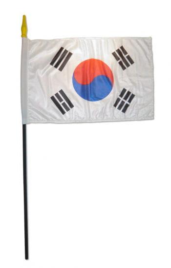 Stock Flag South Korea