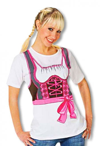 "T-Shirt ""Dirndl"" 40 L / 40"