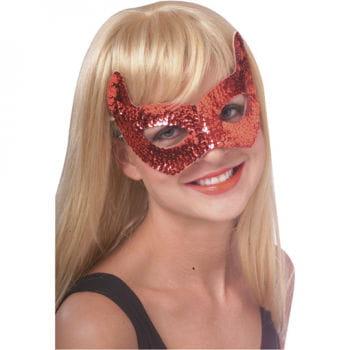 Devils eye mask with sequins