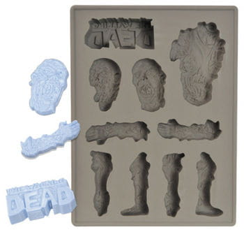 The Walking Dead Silicone Tray