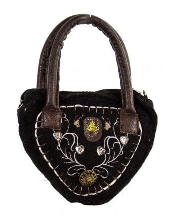 Tiroler ladies bag Deluxe black