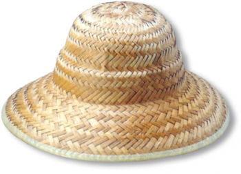 Sun Helmet Straw