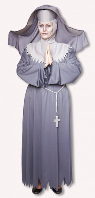 Unbarmherzige Nonne Kostüm M / 38