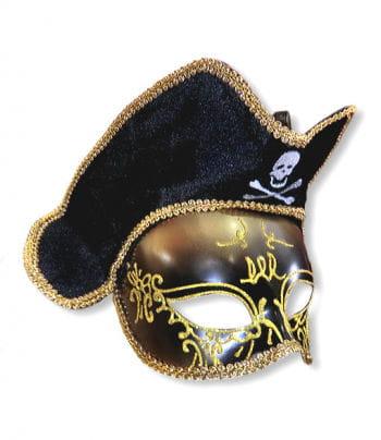 Venezia Piraten Maske gold
