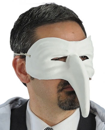 Venetian Bird Mask White