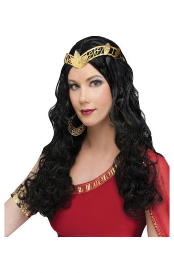 Venus long hair wig black