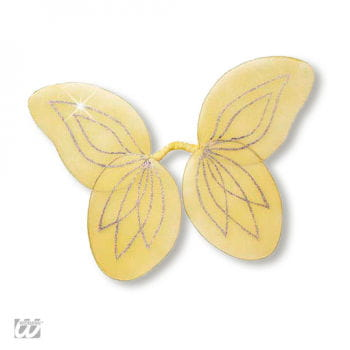 Forest Fairy Wings for Kids Yellow