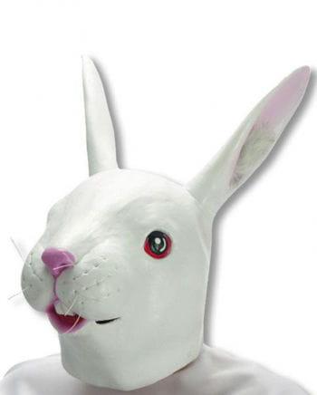 Weiße Kaninchen Maske