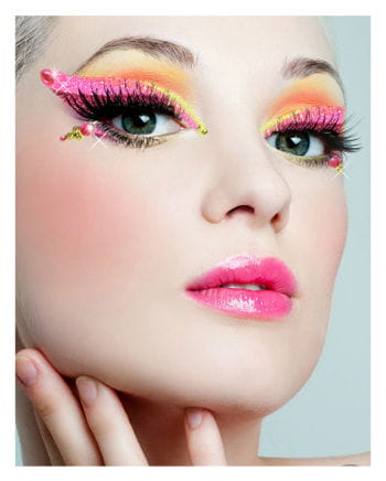 Xotic Eyes Rainbow Makeup