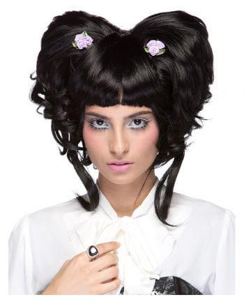 Damen Perücke Yuki schwarz