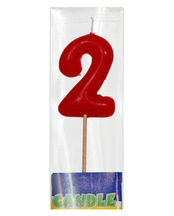 Number candle at bar 2