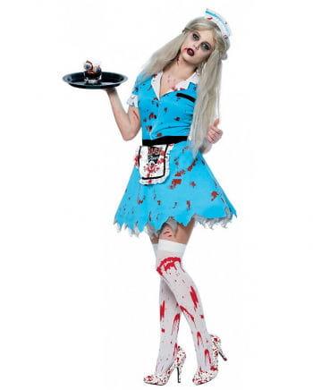 Zombie Waitress Costume