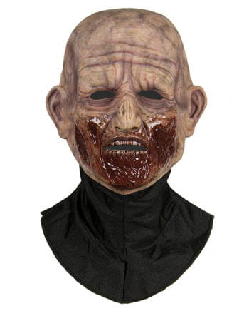 Silikon Halbmaske Zombie Beißer