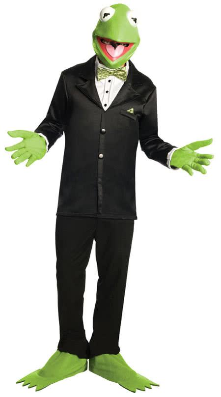 kermit the frog costume kermit costume muppet costume horror. Black Bedroom Furniture Sets. Home Design Ideas