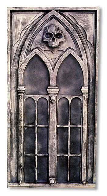 gothic deko fenster halloween kulissen bau horror shop com. Black Bedroom Furniture Sets. Home Design Ideas