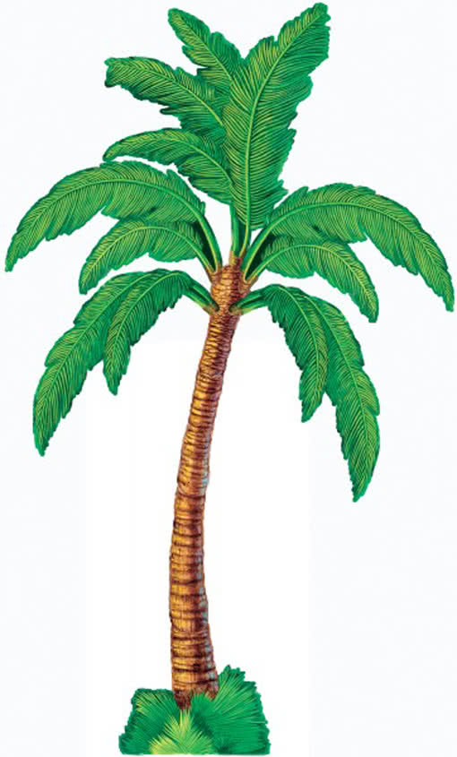 palmen dekoration aus pappe palme aus einseitig. Black Bedroom Furniture Sets. Home Design Ideas