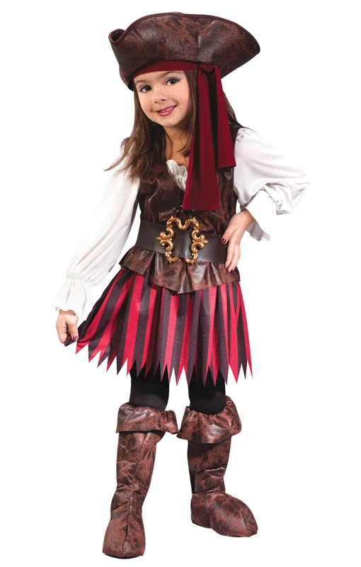 piratin kleinkindkost m schickes piratin kost m f r kleine seer uber horror shop com. Black Bedroom Furniture Sets. Home Design Ideas