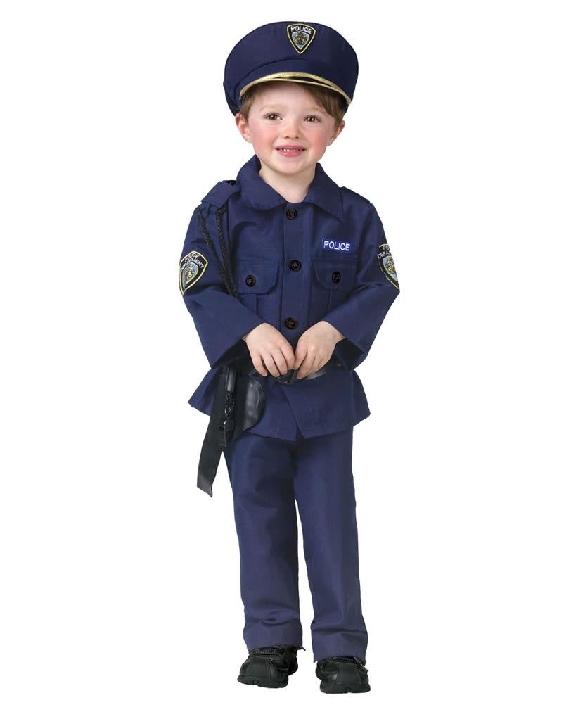 polizist kinder kost m polizei uniform als kinderkost m horror shop com. Black Bedroom Furniture Sets. Home Design Ideas