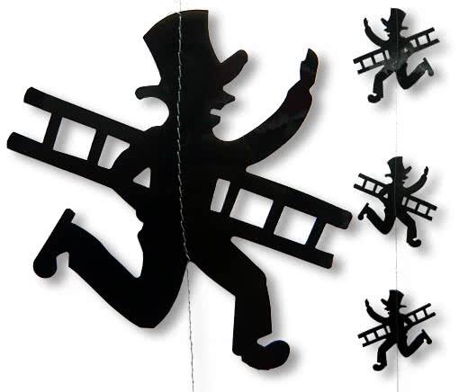 schornsteinfeger h nge silvester deko silvester dekoration. Black Bedroom Furniture Sets. Home Design Ideas