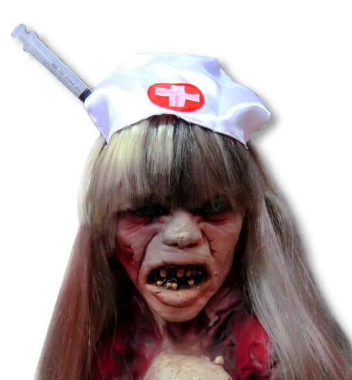 zombie krankenschwester hut mit spritze horror shop com. Black Bedroom Furniture Sets. Home Design Ideas