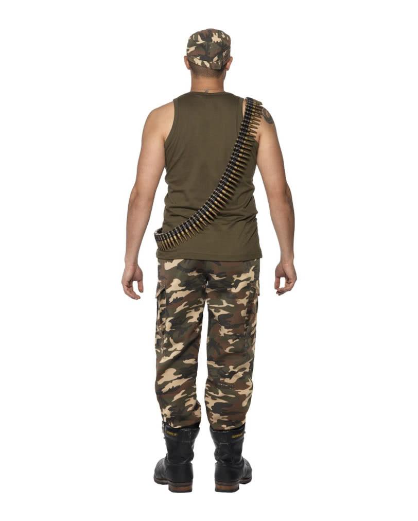camouflage herren kost m armee verkleidung f r m nner horror shop com. Black Bedroom Furniture Sets. Home Design Ideas
