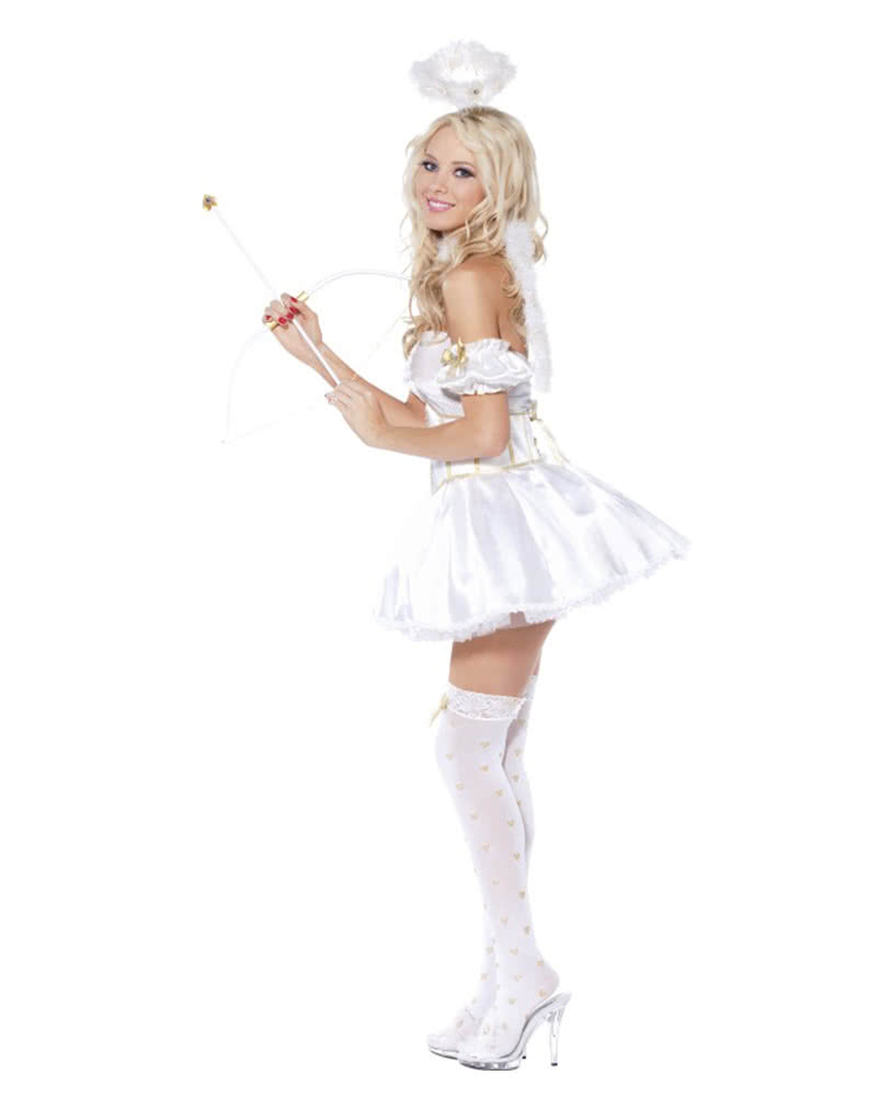 Hot angel costume angel costume in gold white horror for Disfraces de angeles